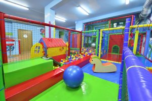 Colorful indoor play zone